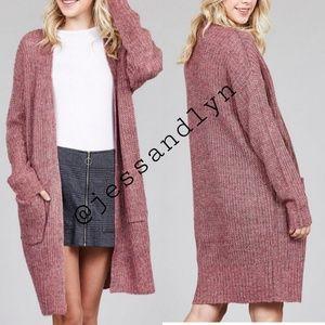 Sweaters - 🆕 AVRIL Dolmen Sleeve Pocket Sweater Cardigan